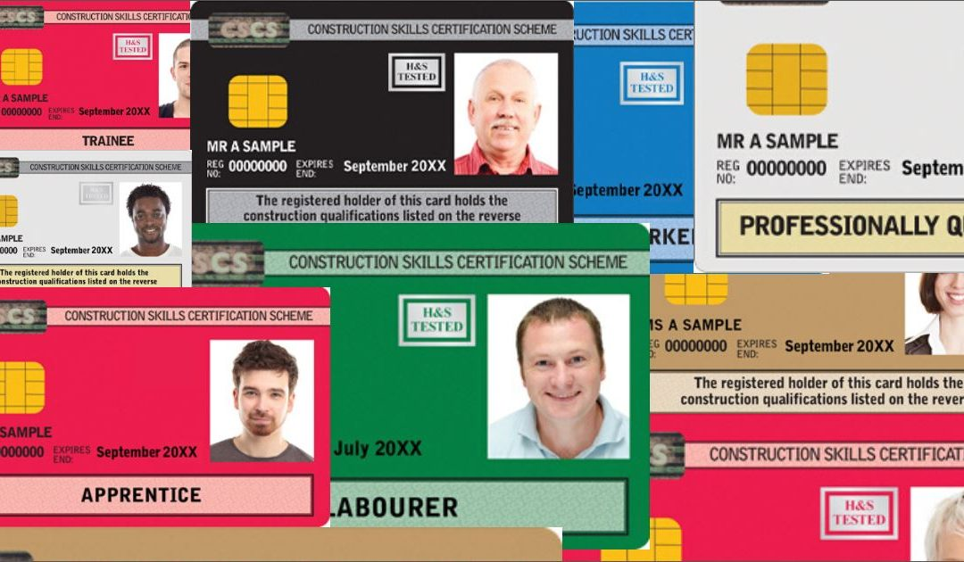 Did you know CSCS has changed the way you apply for your card?